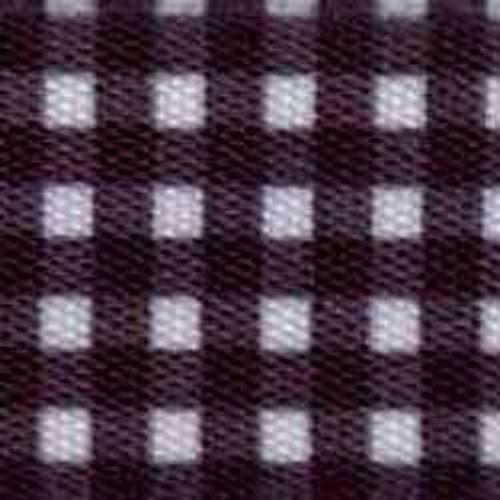 1 1/2 Black Printed Mini Gingham Ribbon