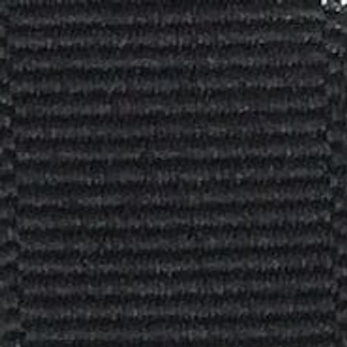 Black Offray Grosgrain Ribbon