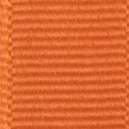 Torrid Orange Offray Grosgrain Ribbon