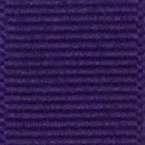 Regal Purple Offray Grosgrain Ribbon