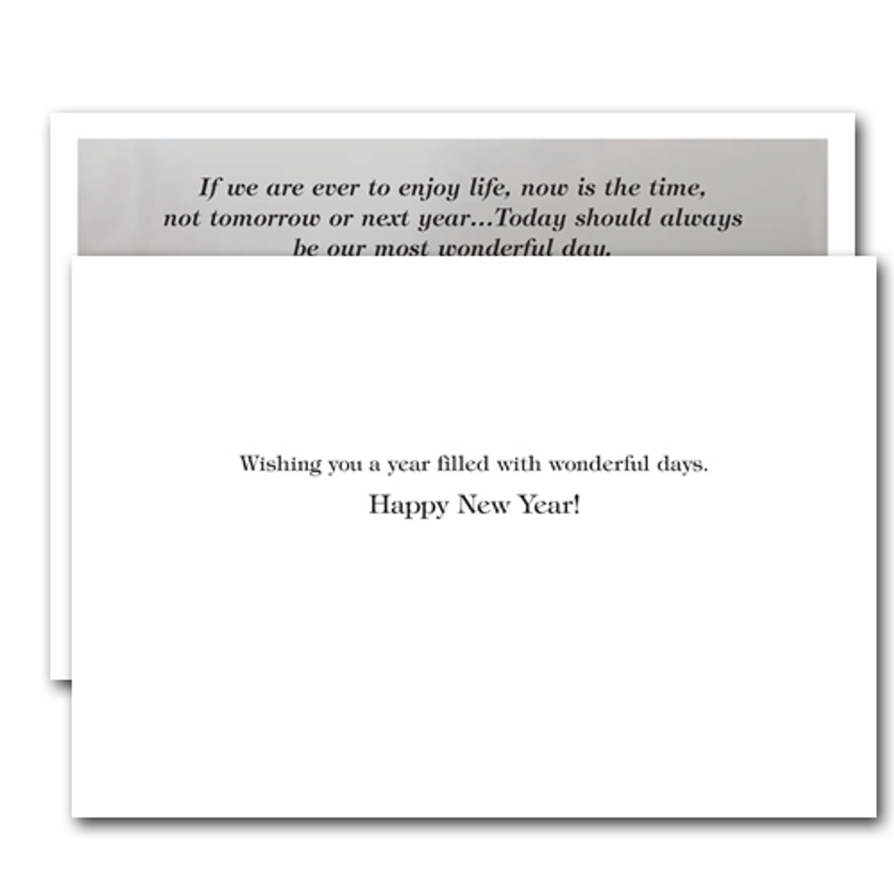 New Years Cards for Business Boxed – Most Wonderful Day