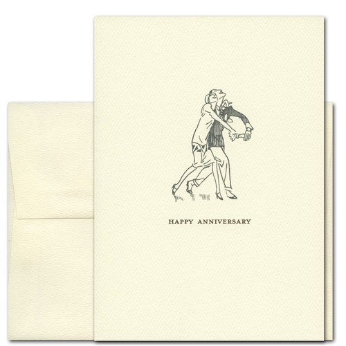 Anniversary Cards: What a Pair - box of 10 cards & envelopes