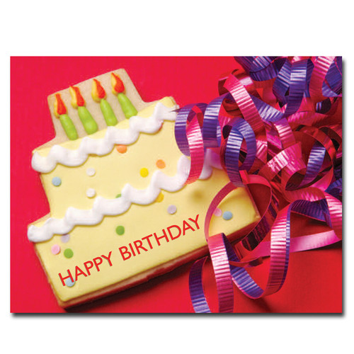 POSTCARDS: Birthday: Cookie Cake - box of 50 postcards