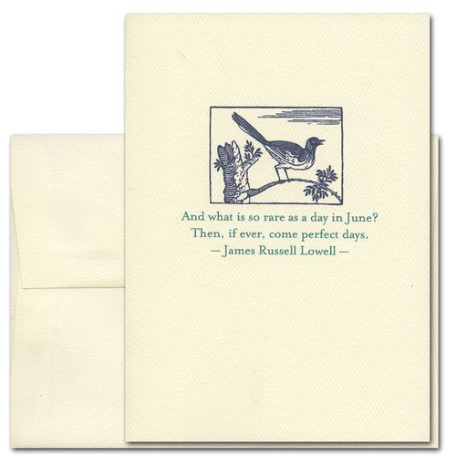 Day in June: Lowell - box of 10 cards & envelopes