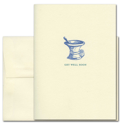 Get Well Cards: Old Fashioned - box of 10 cards & envelopes