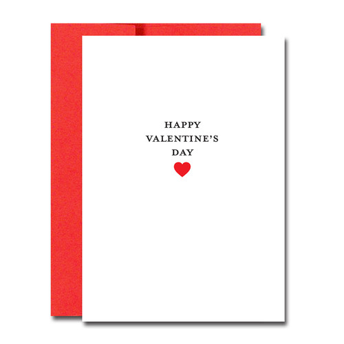 Valentine Cards: Business Basics -boxed 30 note cards & 32 env