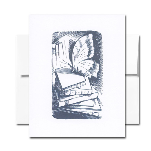 Book Notes: Butterfly - box of 18 note cards & envelopes