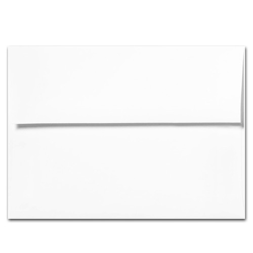 Xtras: A7 White Envelopes for Greeting Cards - packet of 50 envelopes