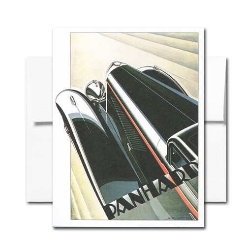 Art Deco Note - box of 18 note cards & envelopes