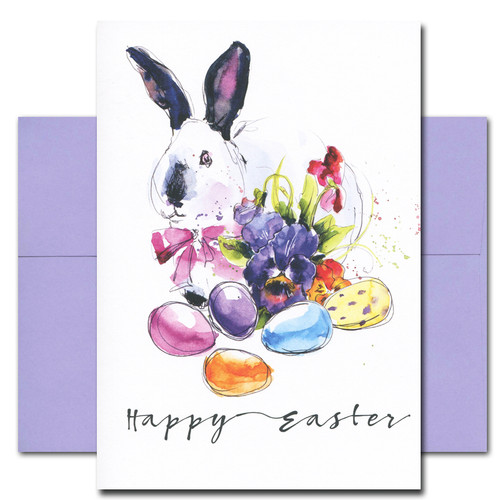 Easter Bunny - box of 10 cards & envelopes