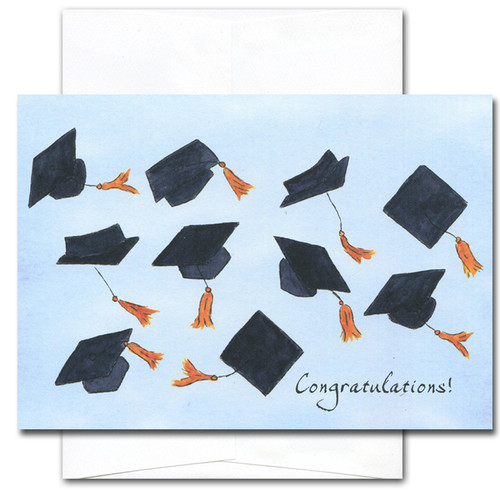 Congratulations Cards: Airborne - box of 10 cards &env