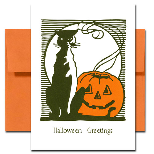 Halloween: Lights Out - box of 10 cards & envelopes
