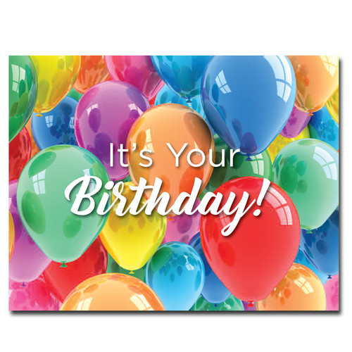 POSTCARDS: Birthday: Birthday Cheer - box of 50 postcards