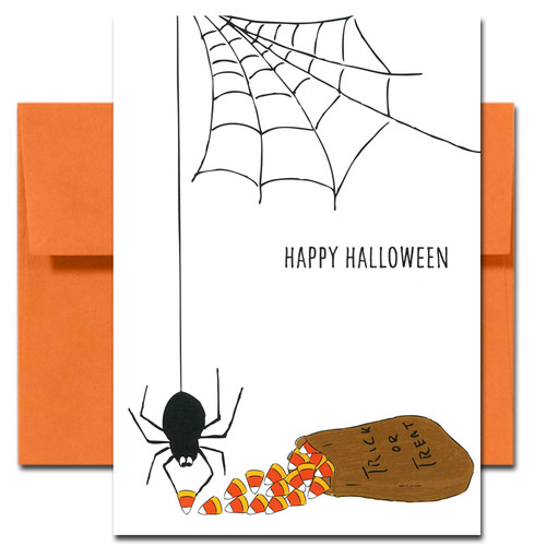 Halloween: Candy Thief - box of 10 cards & envelopes