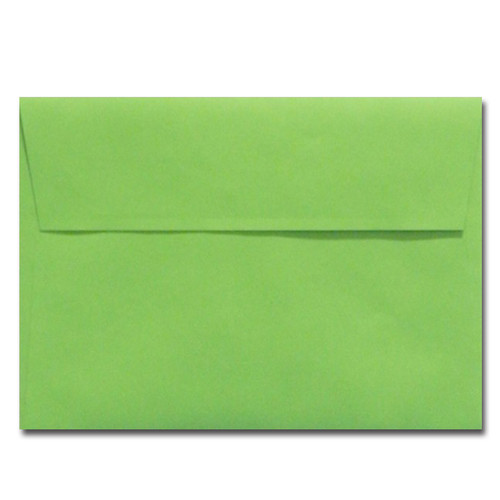 A7 Limelight Green Envelope