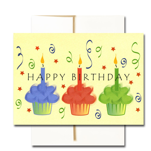 boxed business birthday note cards streamers