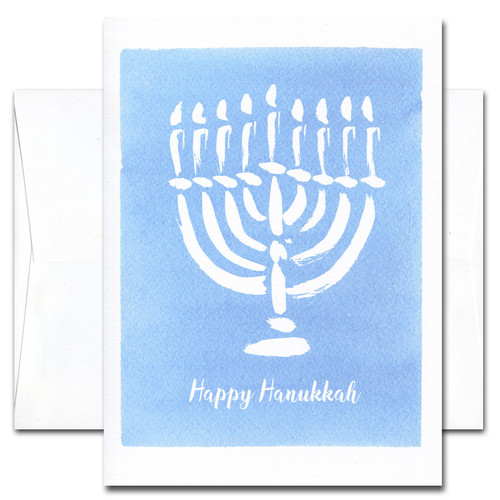 Happy Time: Hanukkah Cards - box of 10 cards & envelopes
