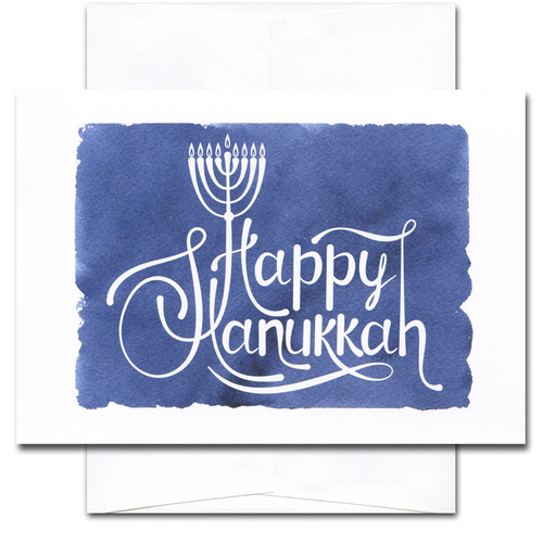 Light and Peace: Hanukkah Cards - box of 10 cards & envelopes