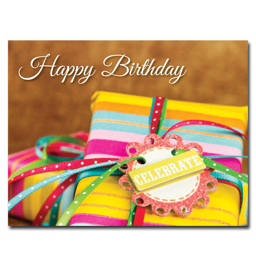 POSTCARDS: Birthday: Celebration Gifts - box of 50 postcards
