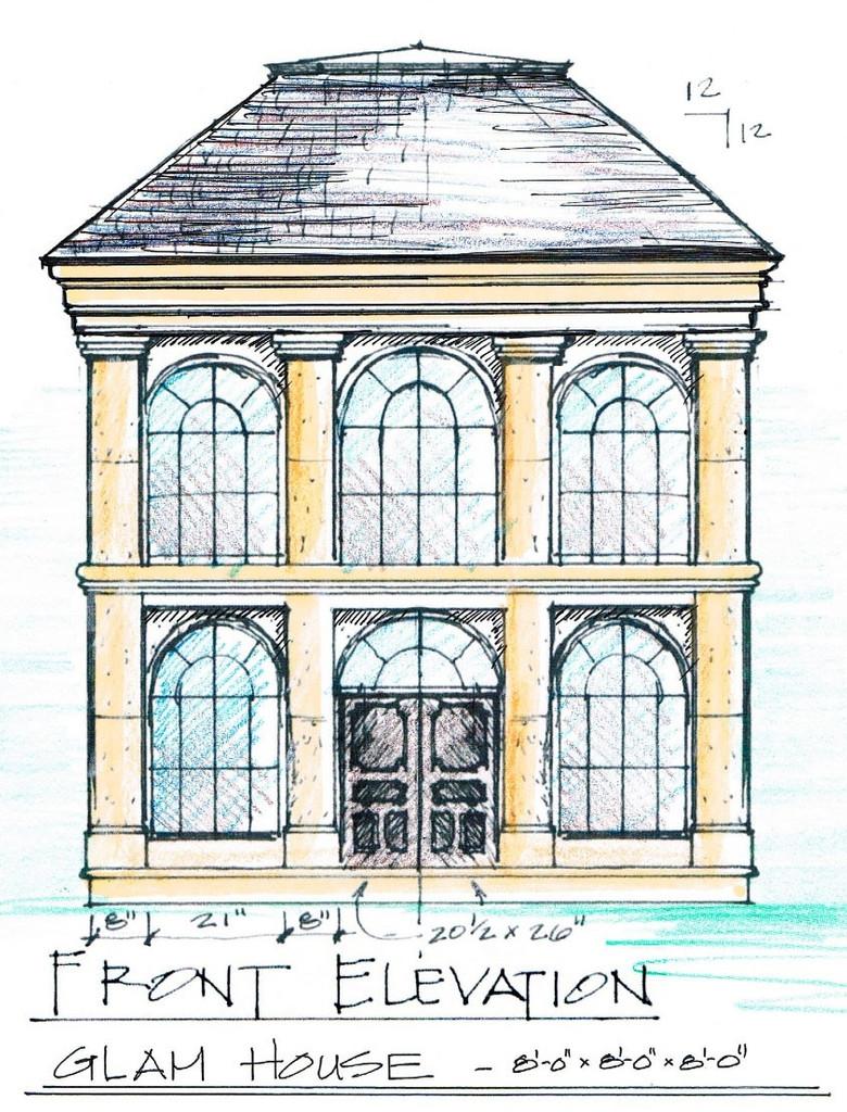 Limestone Dog House Plans