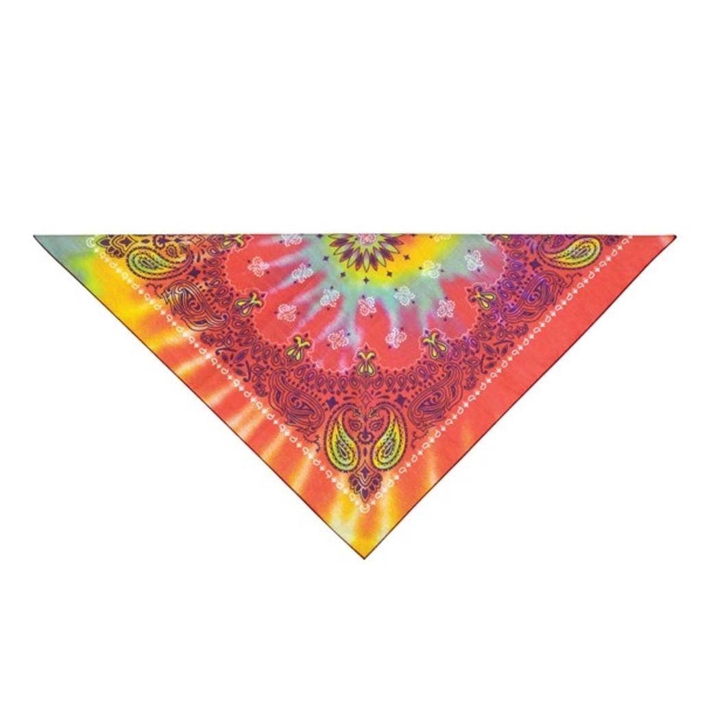 Tie Dye Hippie Dog Bandana