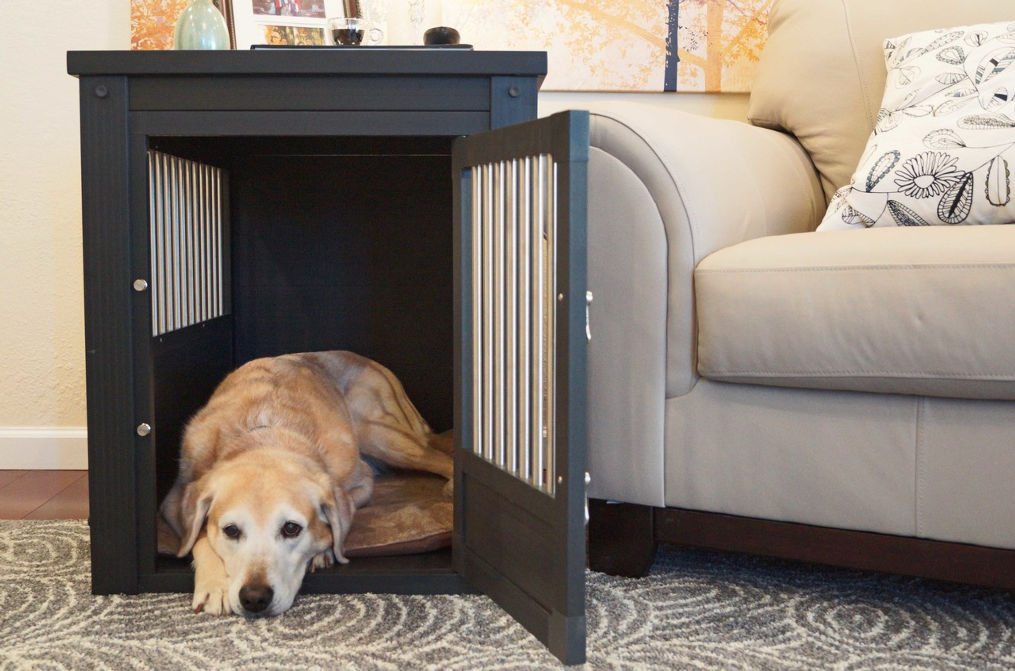 Designer Dog Crate Furniture ...