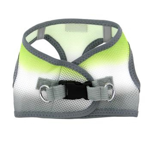 Choke Free Ombre Mesh Dog Harness - Limestone Grey