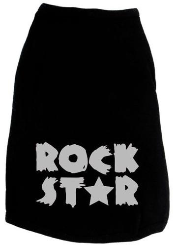 Rock Star Dog Tank
