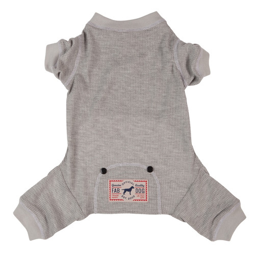 Thermal Dog PJ's - grey
