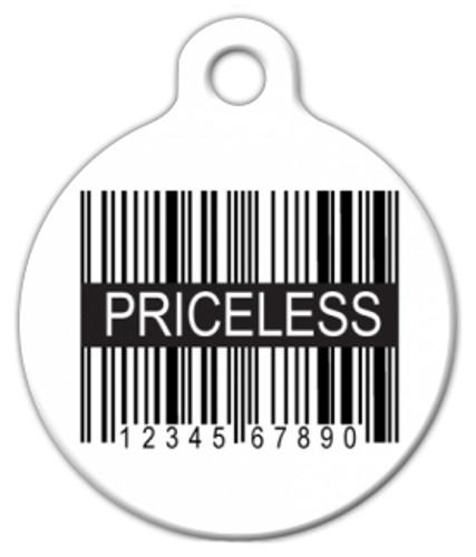 Priceless Dog ID Tag