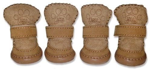 Dog Accessories | Pawggly's Faux Sheepskin Dog Boots