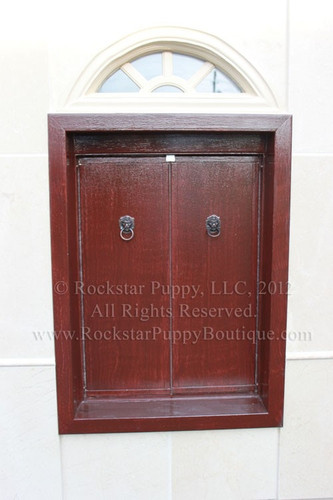 Glam Limestone Dog House