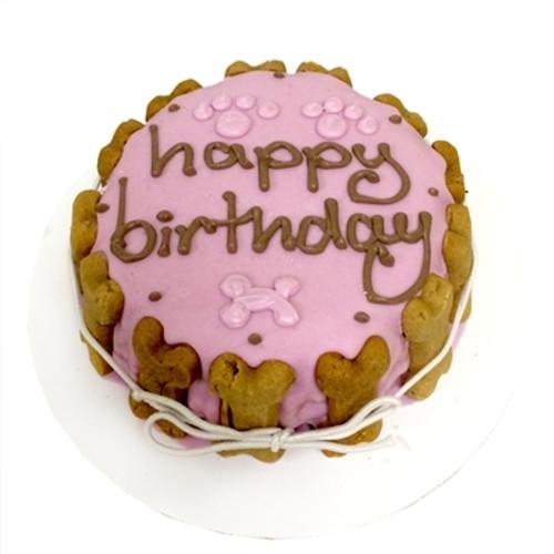 Girl Dog Birthday Cake