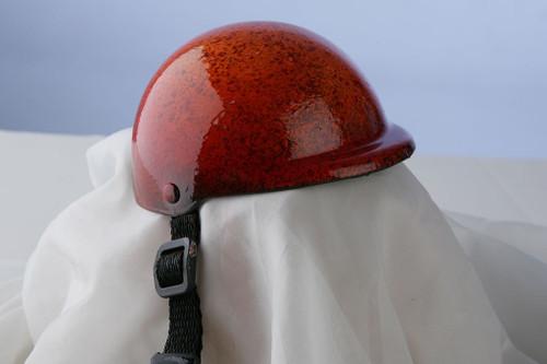 Airbrushed Sunburst Dog Helmet