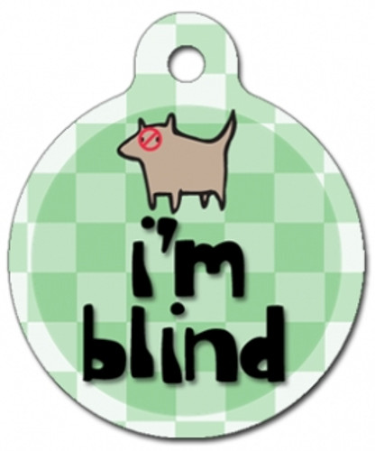 I'm Blind Medical Alert Dog ID Tag