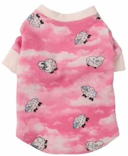 Pink Lamb Dog Pajamas