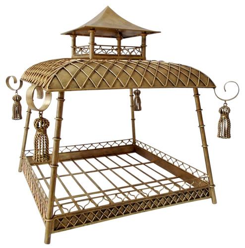 pagoda style dog bed  sc 1 st  Rockstar Puppy & Canopy Dog Beds   Rockstar Puppy