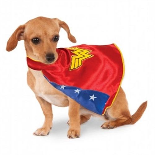 Wonder Woman Dog Cape