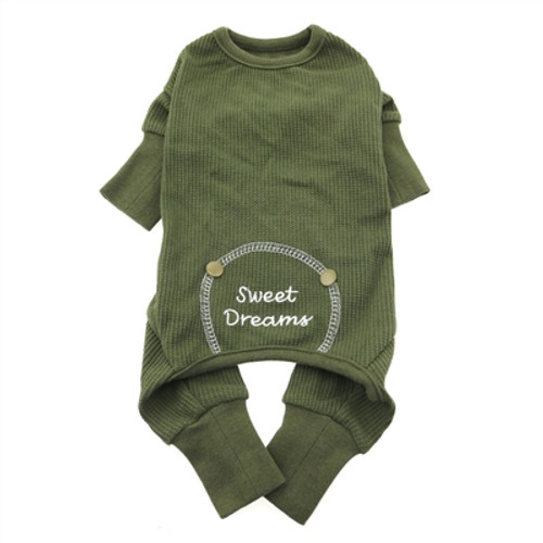 Sweet Dreams Dog Pajamas - Green