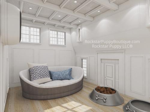 custom dog house interior design