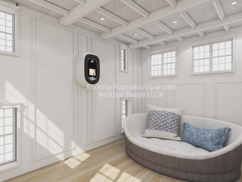 custom luxury dog house interior design