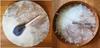 Traditional European Style Pegged Drum w/ Rabbit Fur Beater