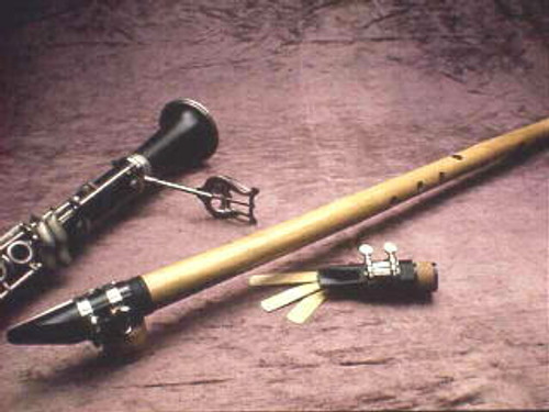 Bass Bamboo Clarinet pictured