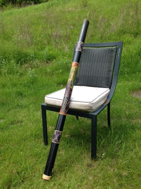 Bamboo Gekko Painted Didgeridoo