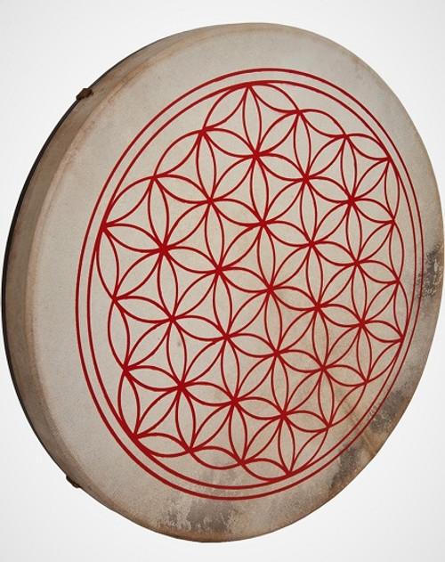 Flower of Life 18'' Drum