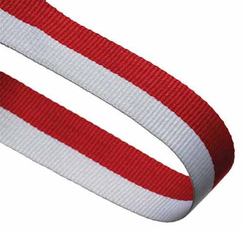 RED & WHITE RIBBON