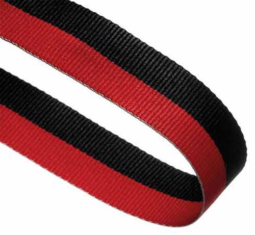 BLACK & RED RIBBON