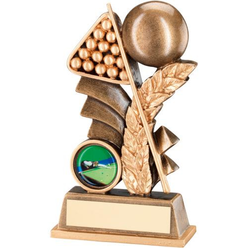 Snooker or Pool Laurel Award for those with a lower budget in mind with FREE engraving