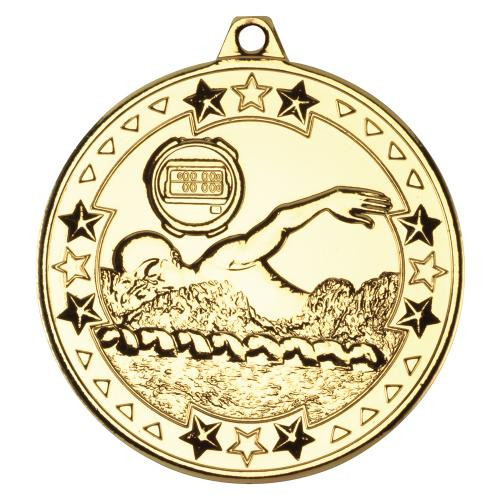 Gold Swimming Medal