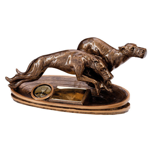 Prestige Greyhound Award dog racing circuit trophy